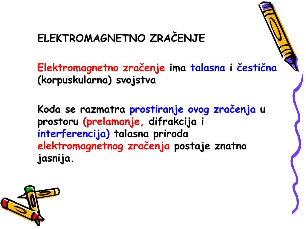 ELEKTROMAGNETNO ZRA