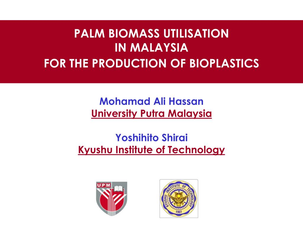 PPT - PALM BIOMASS UTILISATION IN MALAYSIA FOR THE