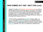 nsw crimes act 1900 sect 578c cont14