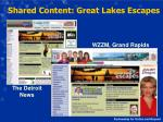 shared content great lakes escapes