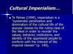 cultural imperialism1