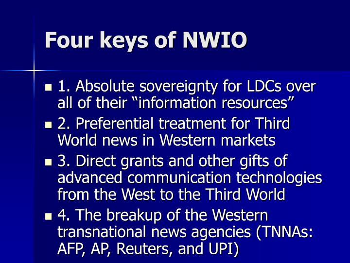 Four keys of NWIO