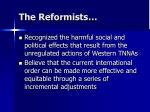 the reformists1