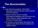 the structuralists