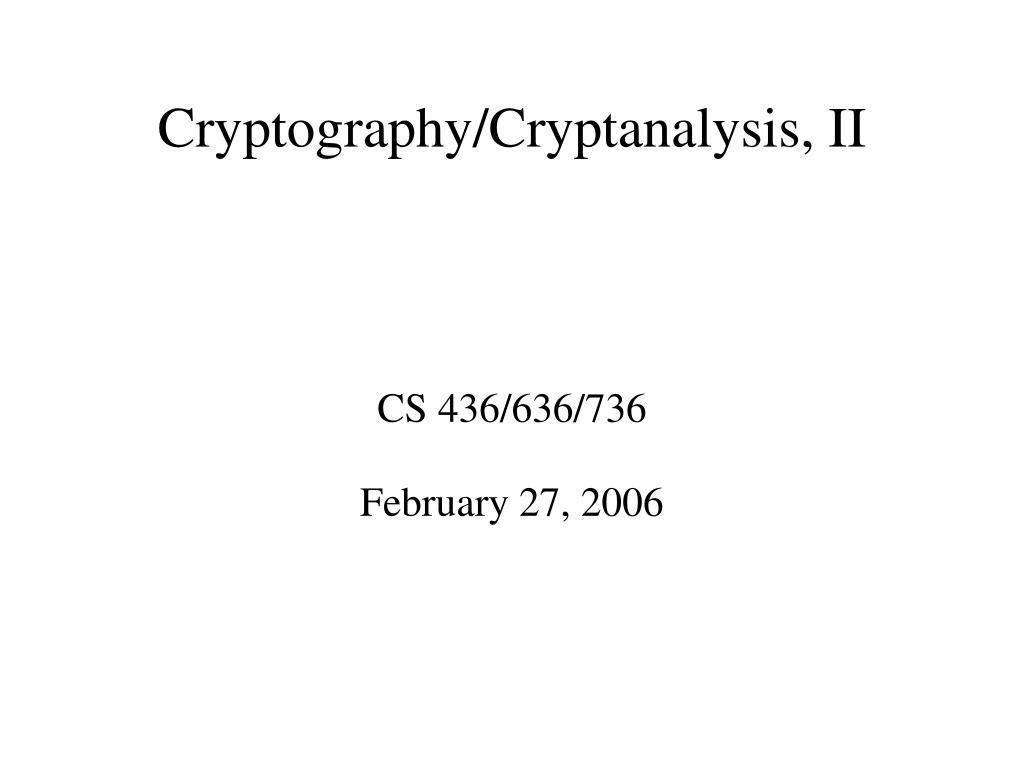 cs 436 636 736 february 27 2006 l.