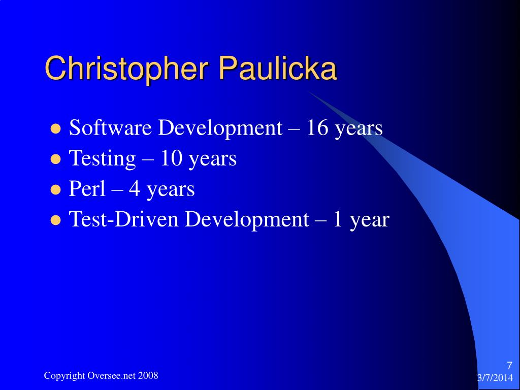 Christopher Paulicka