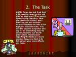 2 the task