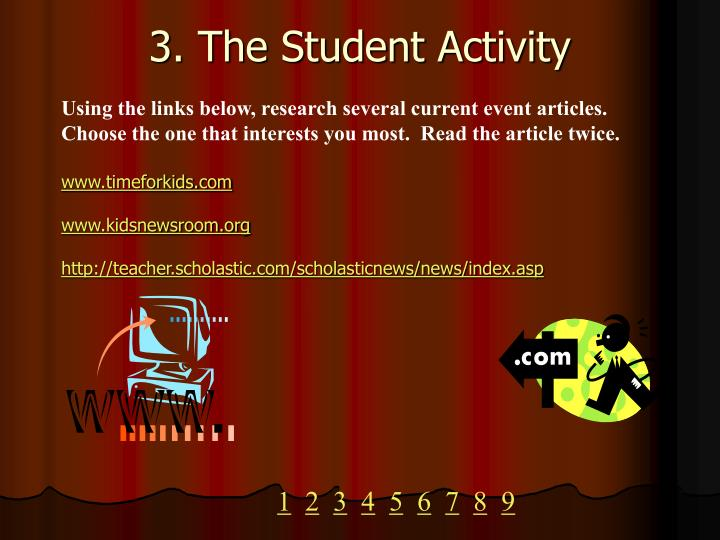 3 the student activity