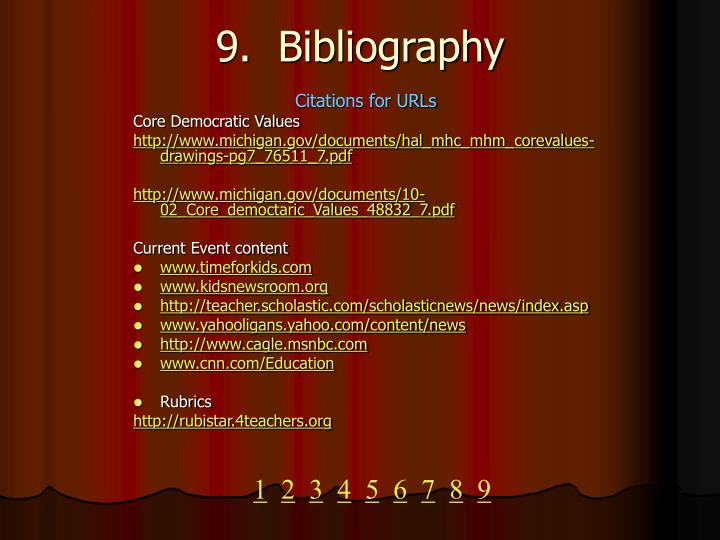 Citations for URLs