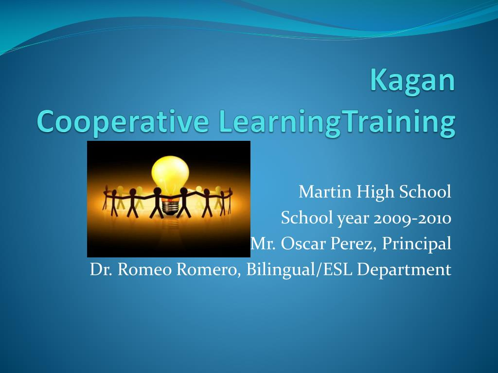 (PDF) Cooperative Learning - ResearchGate