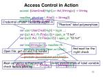 access control in action