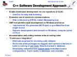 c software development approach