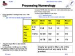 processing numerology