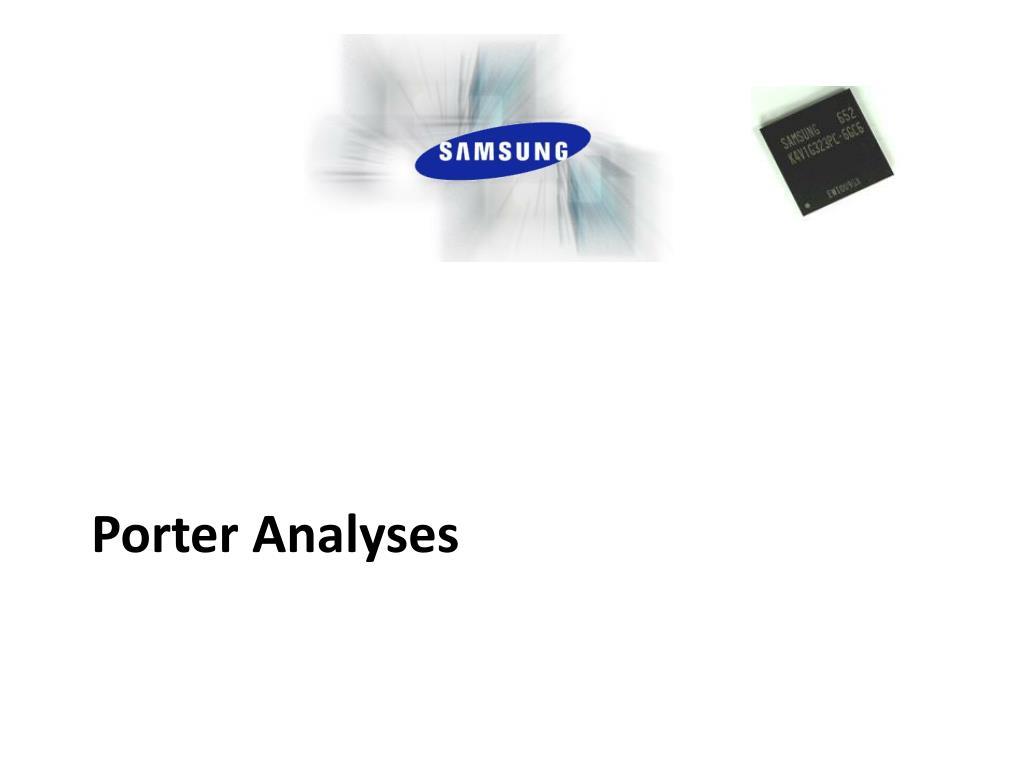 Porter Analyses