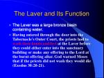 the laver and its function