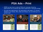 psa ads print
