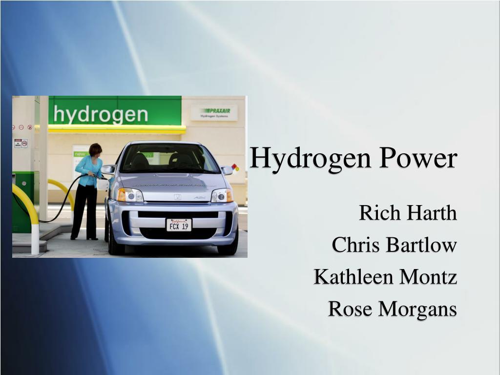 hydrogen power l.