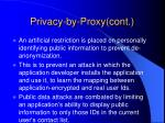 privacy by proxy cont20