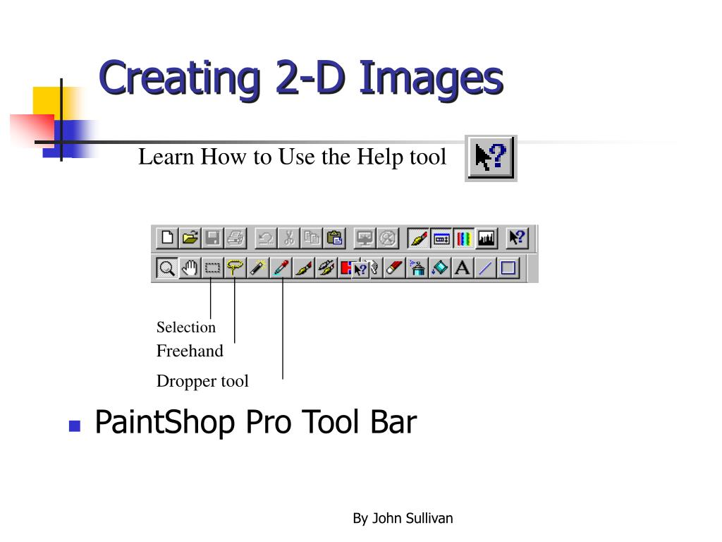 Creating 2-D Images