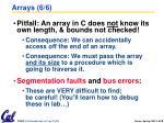 arrays 6 6