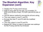 the blowfish a lgorith m key expansion cont13