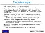theoretical impact49