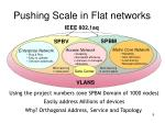 pushing scale in flat networks