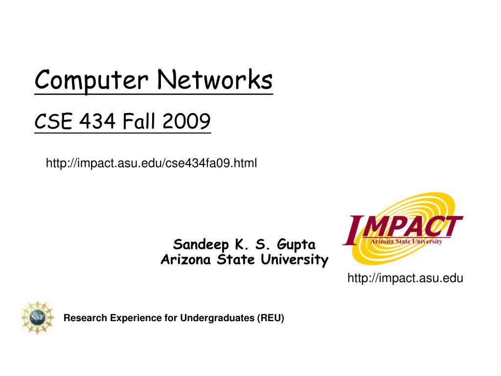 computer networks cse 434 fall 2009 l.