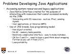 problems developing java applications19
