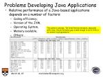 problems developing java applications20