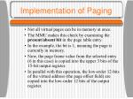 implementation of paging11