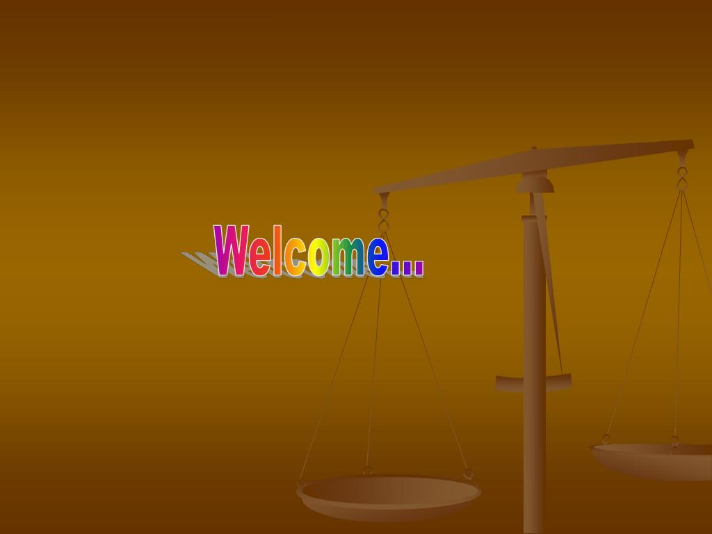 PPT - Welcome    PowerPoint Presentation - ID:472647