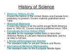 history of science47
