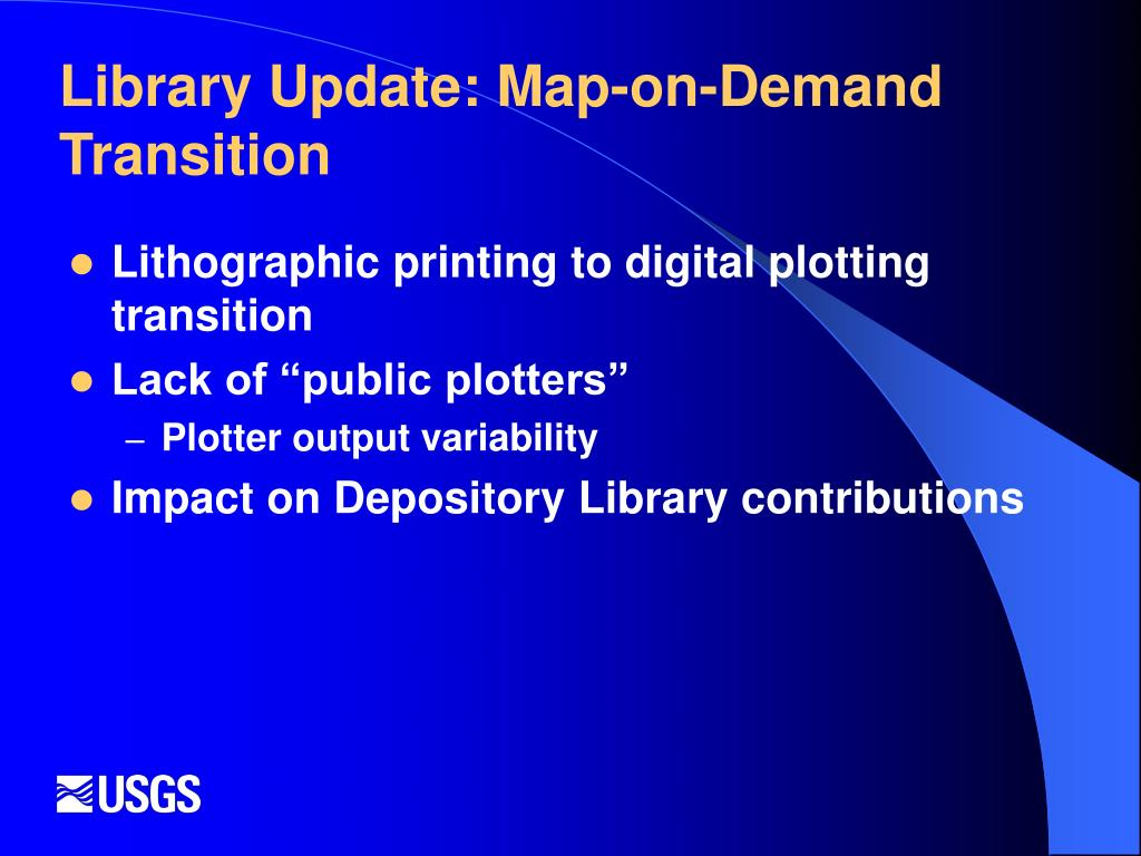 Library Update: Map-on-Demand Transition