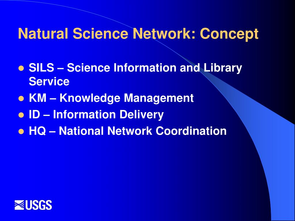 Natural Science Network: Concept