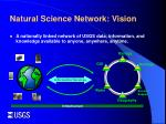 natural science network vision