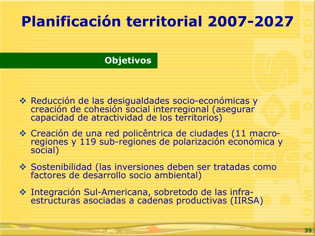 Reducción de las desigualdades socio-económicas y creación de cohesión social interregional (asegurar capacidad de atractividad de los territorios)