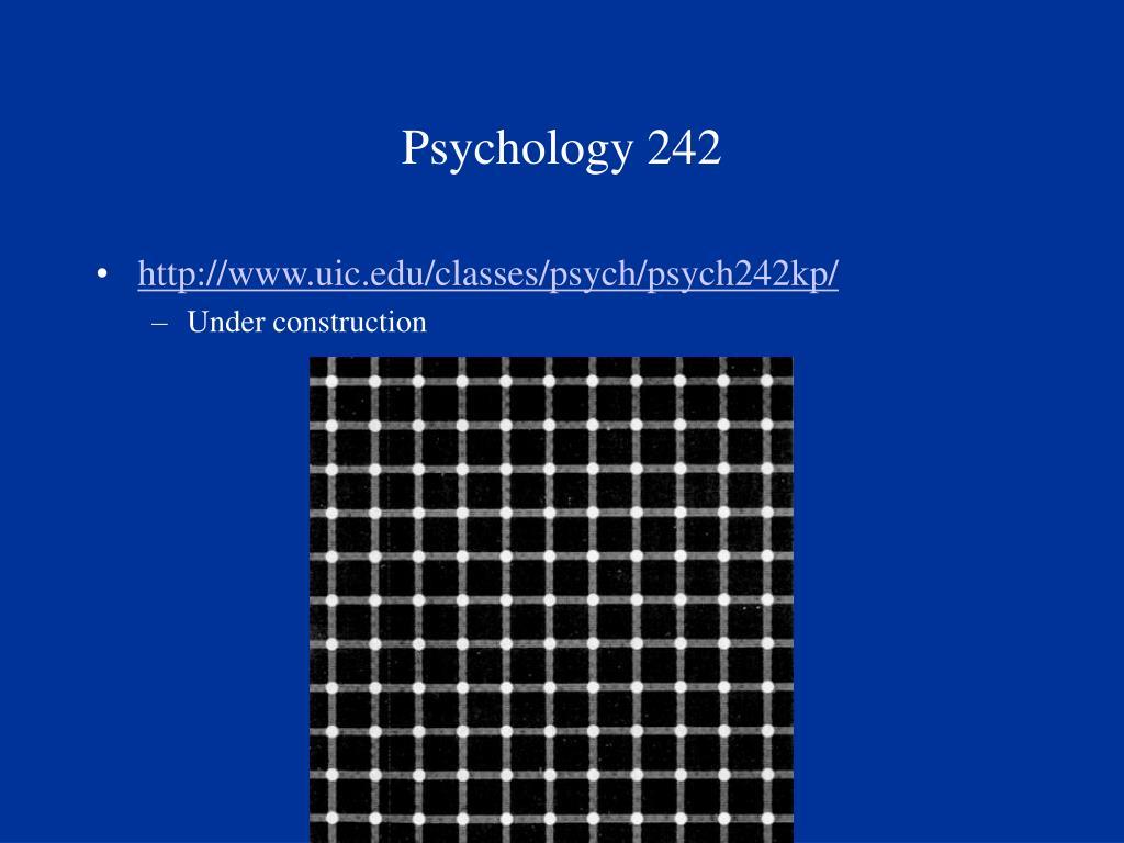 psychology 242 l.