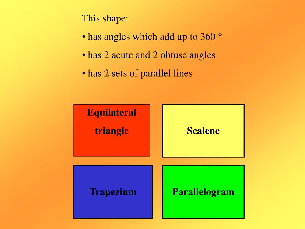 This shape: