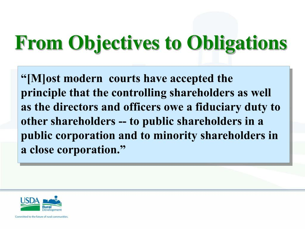 """[M]ost modern  courts have accepted the principle that the controlling shareholders as well as the directors and officers owe a fiduciary duty to other shareholders -- to public shareholders in a public corporation and to minority shareholders in a close corporation."""