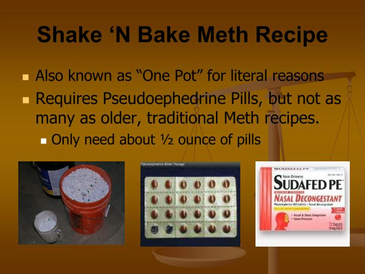 shake n bake meth recipe