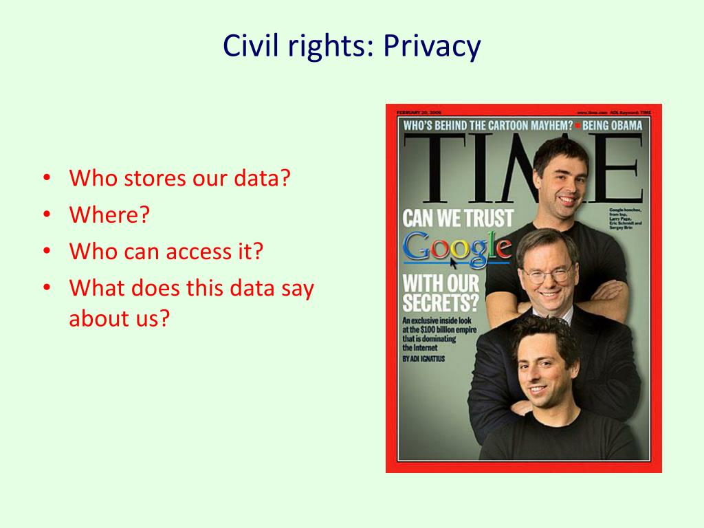 Civil rights: Privacy