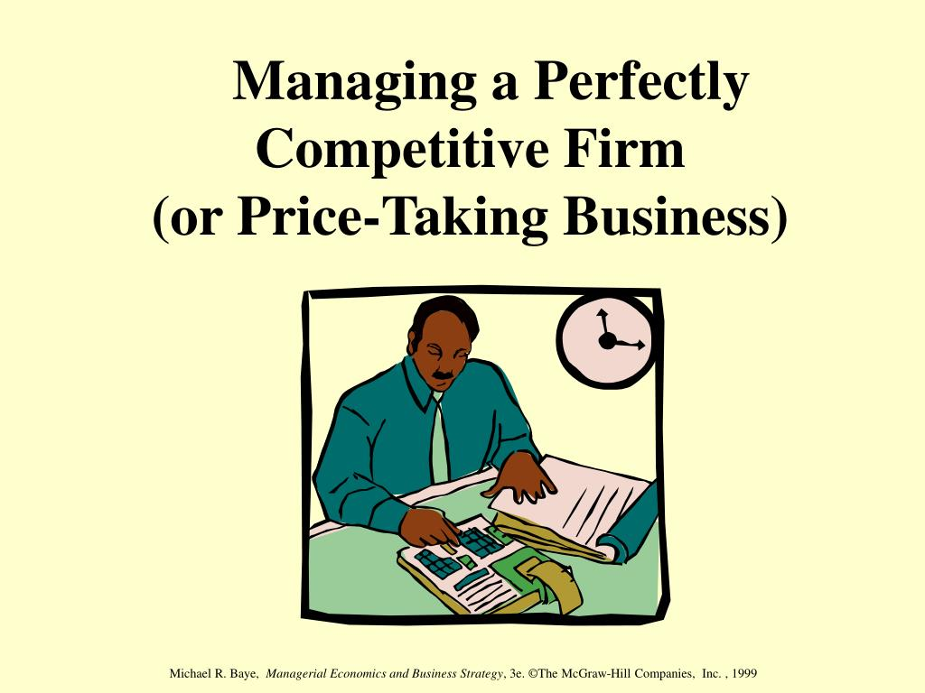 economics and competitive firm