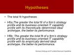 hypotheses23