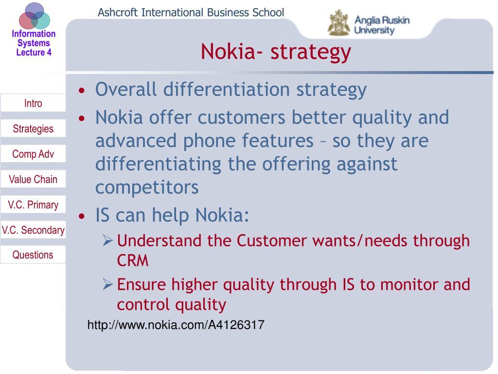 Nokia- strategy