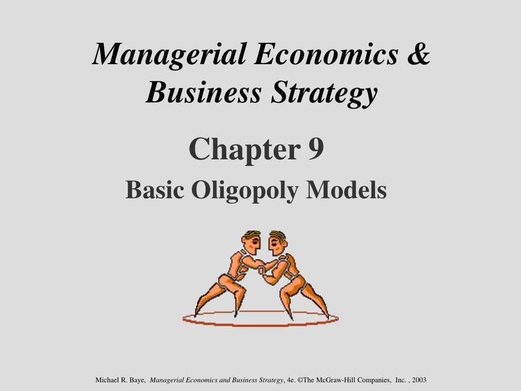 economics for business summary