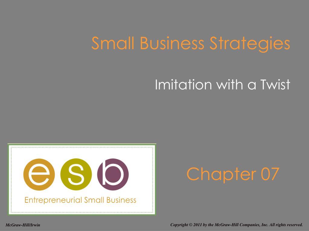 small business strategies l.