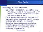 clear goals49