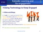 episodic learning and re engagement63