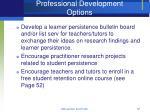 professional development options67